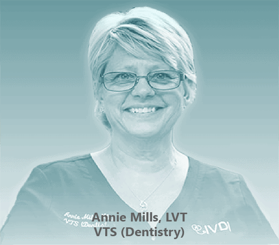 The picture of Annie Mills, LVT, VTS (Dentistry)